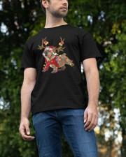 Bulldog Holidays Classic T-Shirt apparel-classic-tshirt-lifestyle-front-47
