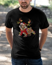 Bulldog Holidays Classic T-Shirt apparel-classic-tshirt-lifestyle-front-50