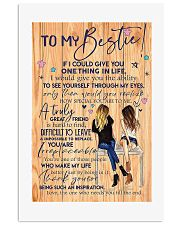 To my bestie v10 Vertical Poster tile