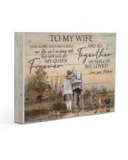 To My Wife Farmer Gallery Wrapped Canvas Prints tile