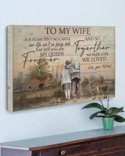 To My Wife Farmer 30x20 Gallery Wrapped Canvas Prints aos-canvas-pgw-30x20-lifestyle-front-01