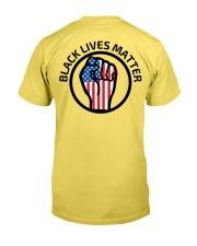 Black lives matter Get your Knee off our Necks Premium Fit Mens Tee back