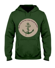 Sea Anchor Hoodie Winter Hooded Sweatshirt front