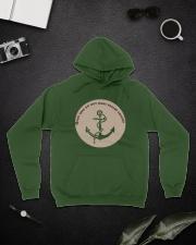 Sea Anchor Hoodie Winter Hooded Sweatshirt lifestyle-unisex-hoodie-front-9