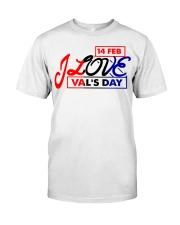 Lovelynaj valentine T-Shirt design Classic T-Shirt thumbnail