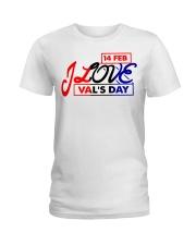 Lovelynaj valentine T-Shirt design Ladies T-Shirt front
