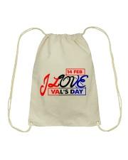 Lovelynaj valentine T-Shirt design Drawstring Bag thumbnail