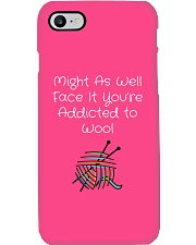Addicted to Wool Collection for Craft Enthusiasts Phone Case thumbnail