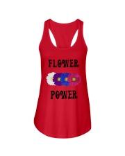Flower Power Square Design Ladies Flowy Tank thumbnail