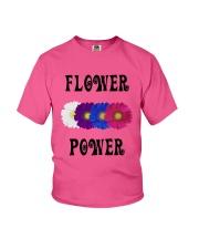 Flower Power Square Design Youth T-Shirt thumbnail