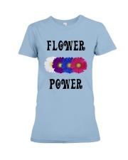 Flower Power Square Design Premium Fit Ladies Tee thumbnail