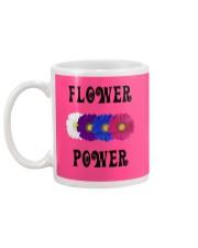 Flower Power Square Design Mug back