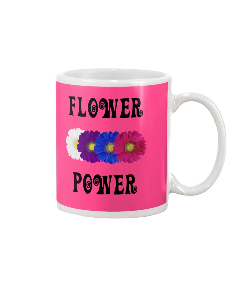 Flower Power Square Design Mug