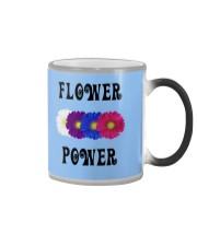 Flower Power Square Design Color Changing Mug thumbnail
