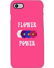 Flower Power Light Square Design Phone Case thumbnail