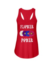 Flower Power Light Square Design Ladies Flowy Tank thumbnail