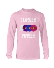 Flower Power Light Square Design Long Sleeve Tee thumbnail