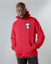Panda Hoodie Hooded Sweatshirt apparel-hooded-sweatshirt-lifestyle-front-09