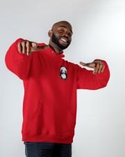 Panda Hoodie Hooded Sweatshirt apparel-hooded-sweatshirt-lifestyle-front-12