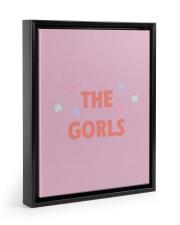 Gorls Merch  11x14 Black Floating Framed Canvas Prints thumbnail