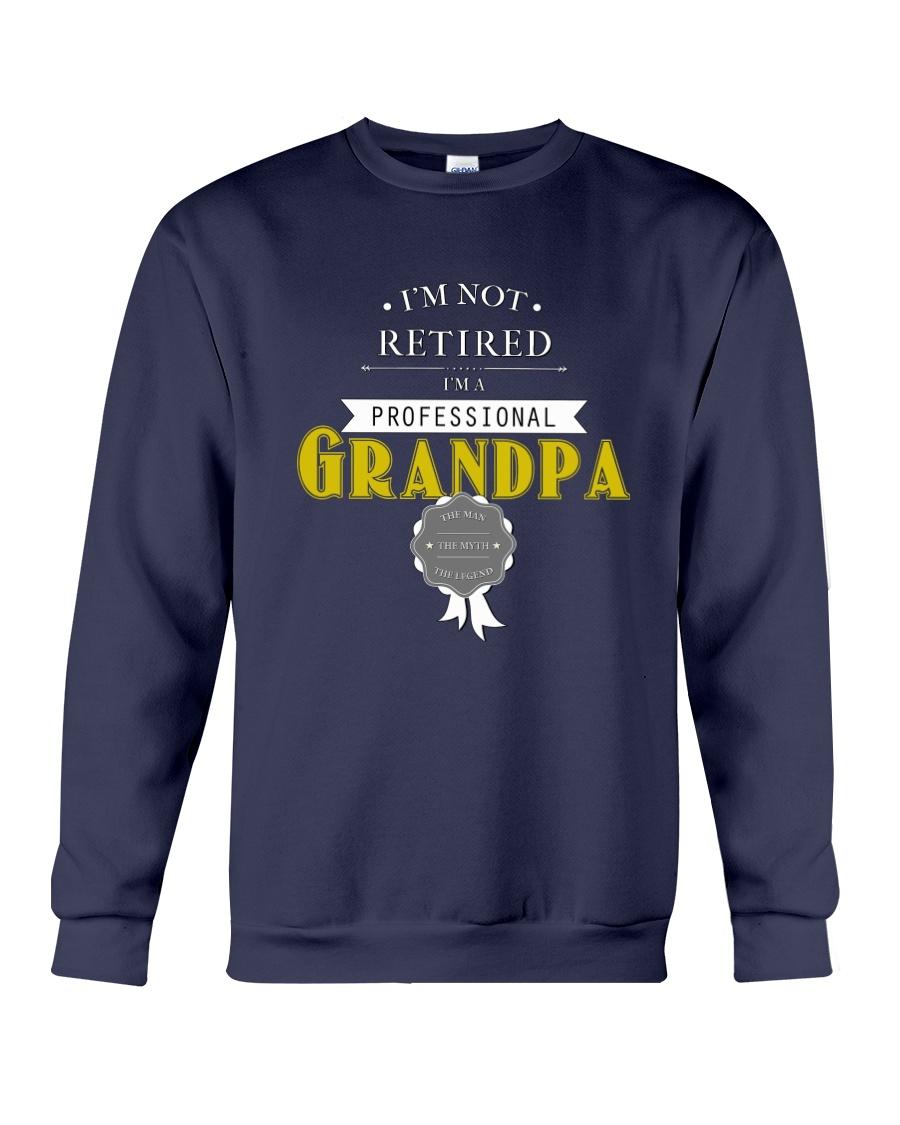 Professional Grandpa Crewneck Sweatshirt