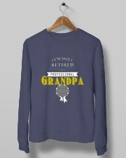 Professional Grandpa Crewneck Sweatshirt lifestyle-unisex-sweatshirt-front-10