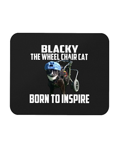 Blacky Inspire mouse pad