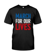 March for Our Lives Shirt Our Kids Matter Classic T-Shirt thumbnail