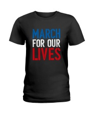 March for Our Lives Shirt Our Kids Matter Ladies T-Shirt thumbnail