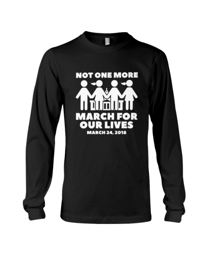 March for Our Lives Shirt Not One More