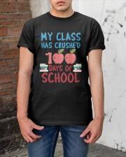 My Class Has Crushed 100 Days of School Shirt Classic T-Shirt apparel-classic-tshirt-lifestyle-31