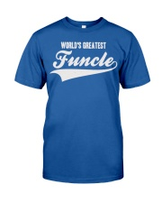 Funcle Shirt Funny Uncle T-Shirt Gift Idea Classic T-Shirt front