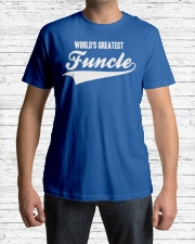 Funcle Shirt Funny Uncle T-Shirt Gift Idea Classic T-Shirt lifestyle-mens-crewneck-front-1