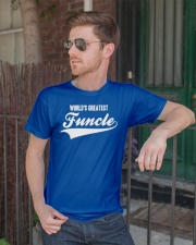 Funcle Shirt Funny Uncle T-Shirt Gift Idea Classic T-Shirt lifestyle-mens-crewneck-front-2