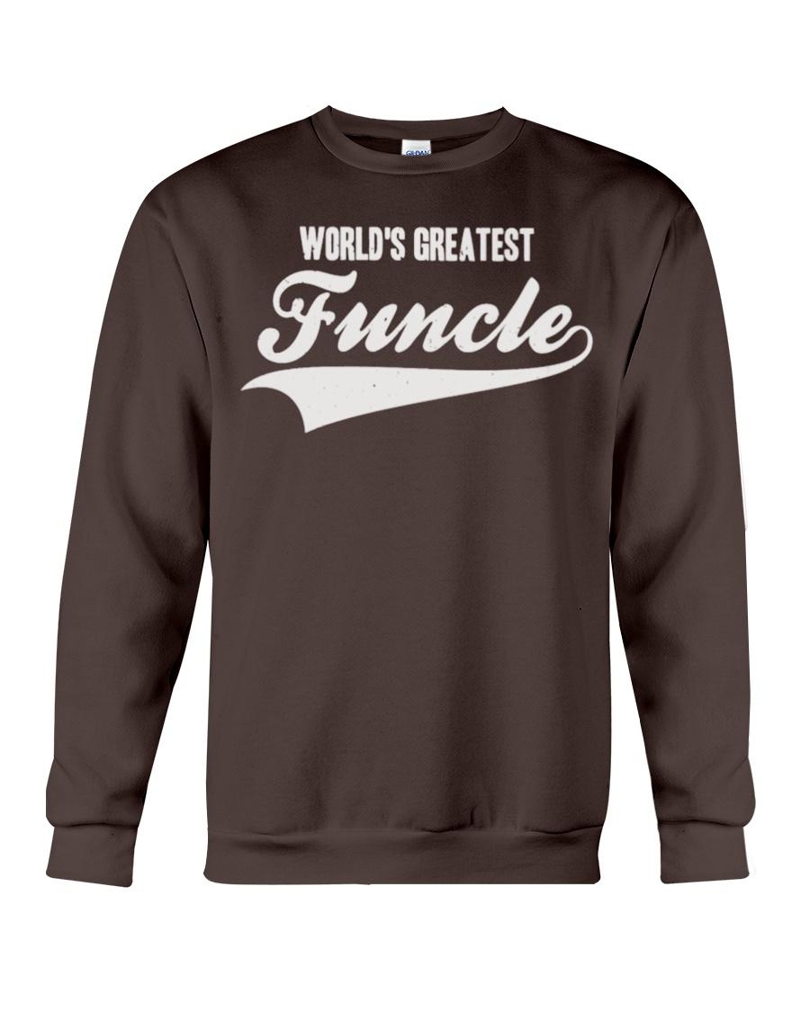 Funcle Shirt Funny Uncle T-Shirt Gift Idea Crewneck Sweatshirt