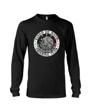 Cinco de Mayo Shirt Drinking Team Long Sleeve Tee front