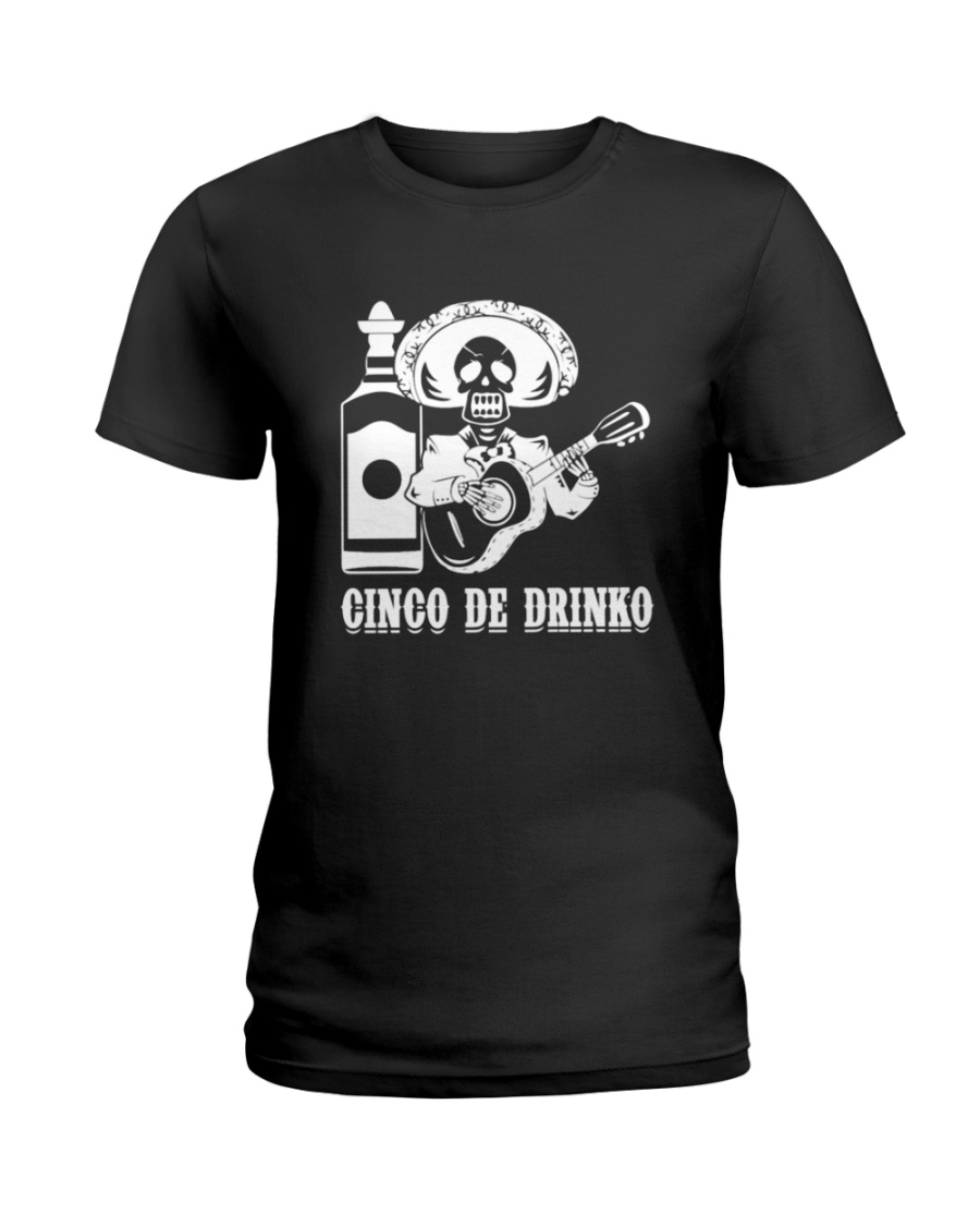 Drinko de Mayo Shirt  Ladies T-Shirt