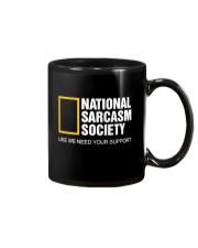 National Sarcasm Society Shirt Mug thumbnail