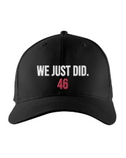 We Just Did 46 Hat Official Embroidered Hat front