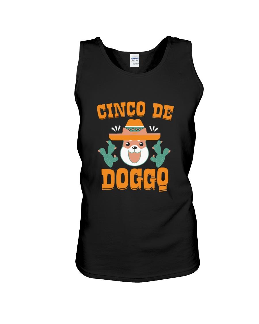 Cinco de Mayo Shirt Doggo Unisex Tank