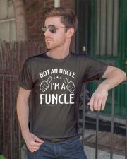 Funcle Shirt Funny Uncle T-Shirt Classic T-Shirt lifestyle-mens-crewneck-front-2