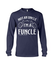 Funcle Shirt Funny Uncle T-Shirt Long Sleeve Tee front