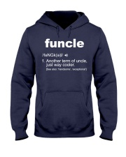 Funcle Shirt Funny Uncle T-Shirt Gift Idea Hooded Sweatshirt front