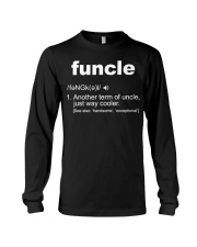 Funcle Shirt Funny Uncle T-Shirt Gift Idea Long Sleeve Tee thumbnail