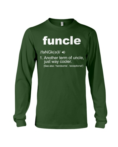 Funcle Shirt Funny Uncle T-Shirt Gift Idea
