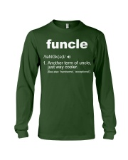 Funcle Shirt Funny Uncle T-Shirt Gift Idea Long Sleeve Tee front
