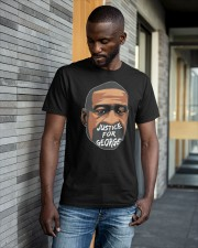 I Can't Breathe George Floyd Shirt BLM Classic T-Shirt apparel-classic-tshirt-lifestyle-front-41-b