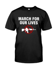 March for Our Lives Shirt No To Guns Classic T-Shirt tile