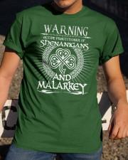 Shenanigans and Malarkey Classic T-Shirt apparel-classic-tshirt-lifestyle-28