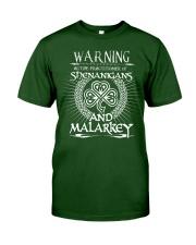Shenanigans and Malarkey Classic T-Shirt front